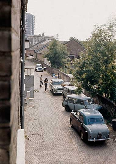 ruston mews in the 1960s history ruston mews